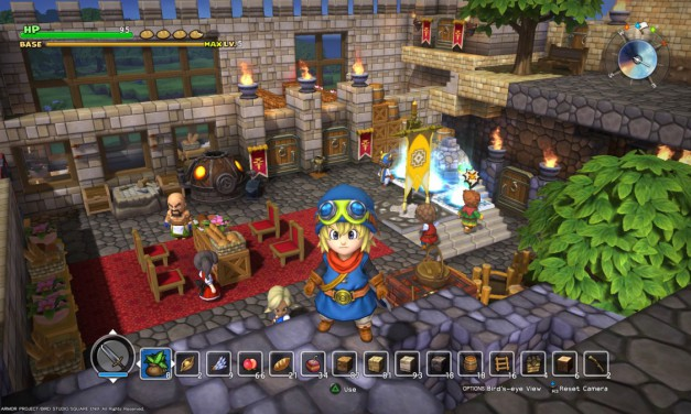Try your hand at building and battling with Dragon Quest Builders' demo, available now on PS4 and PSVita