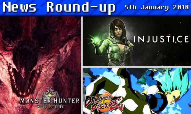 Gaming News Round-up   5th January 2018