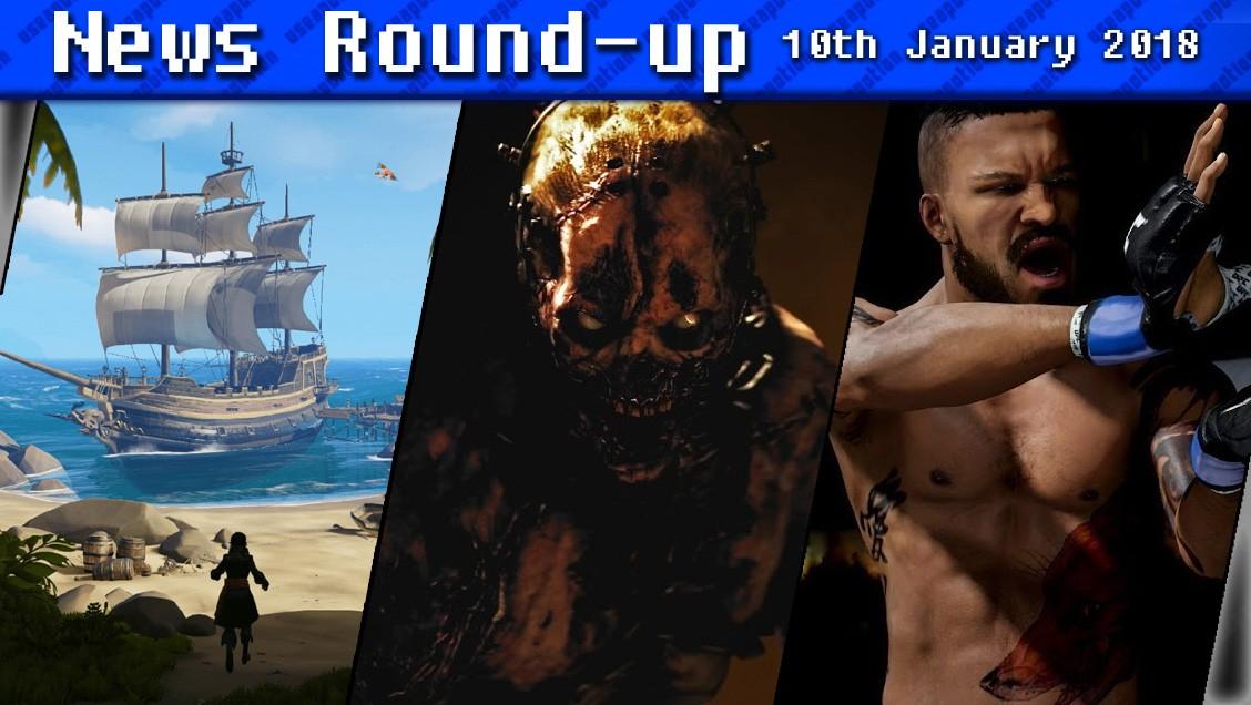 Gaming News Round-up | 10th January 2018