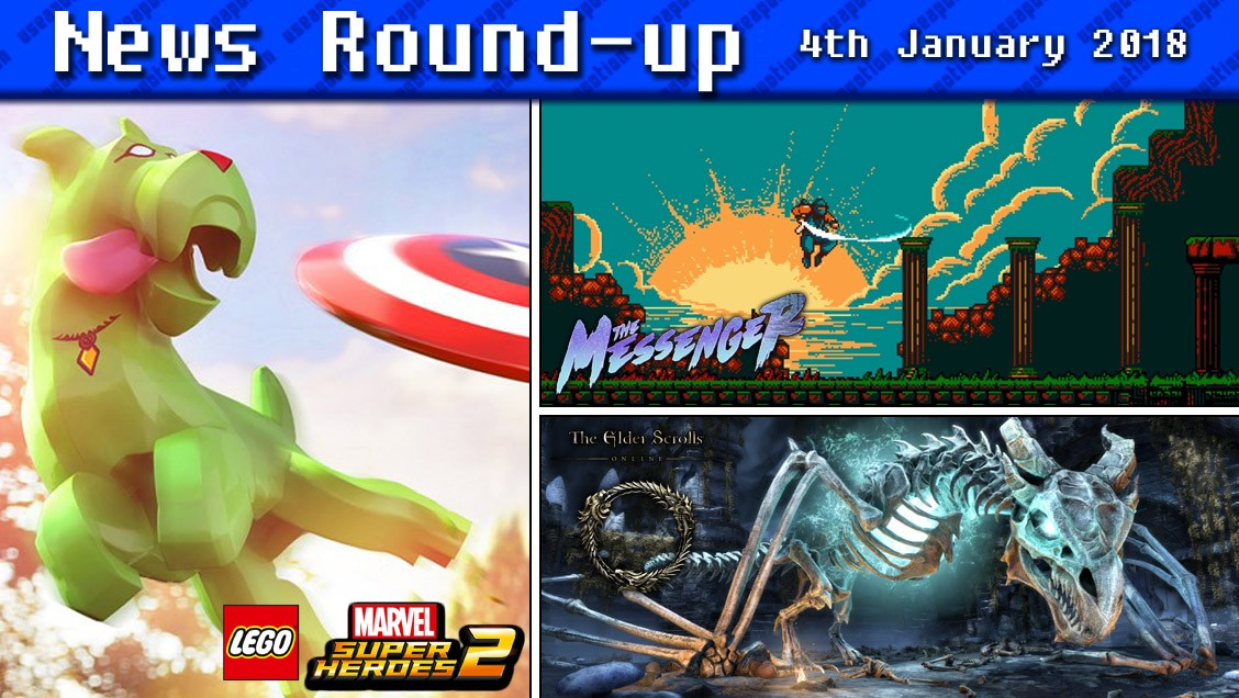 Gaming News Round-up | 4th January 2018