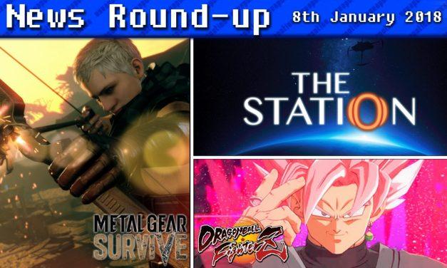 Gaming News Round-up   8th January 2018