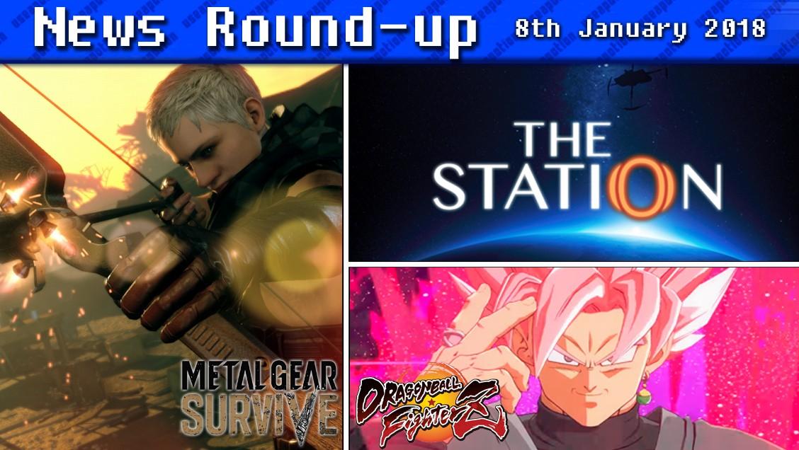 Gaming News Round-up | 8th January 2018