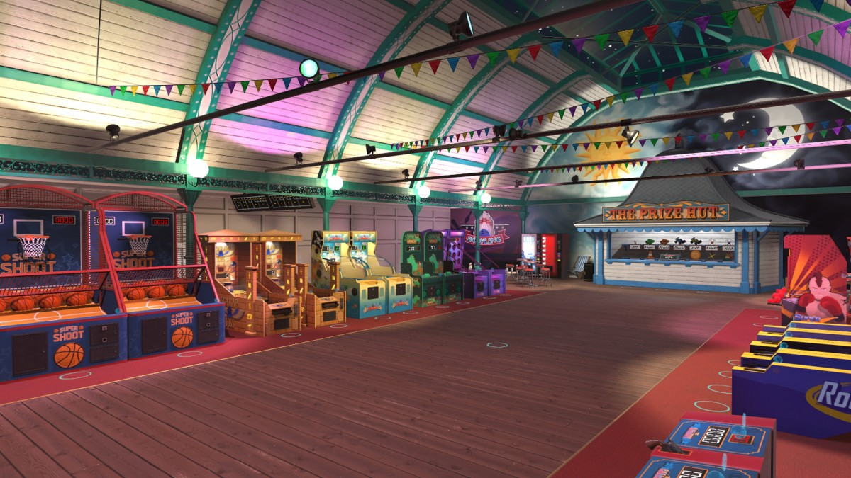 The Pierhead Arcade